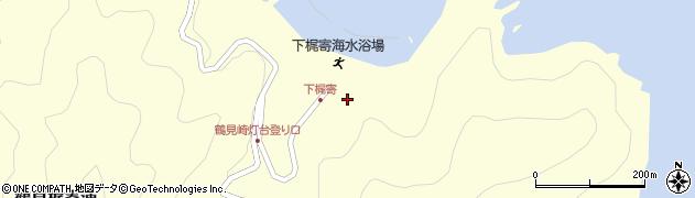 大分県佐伯市鶴見大字梶寄浦547周辺の地図
