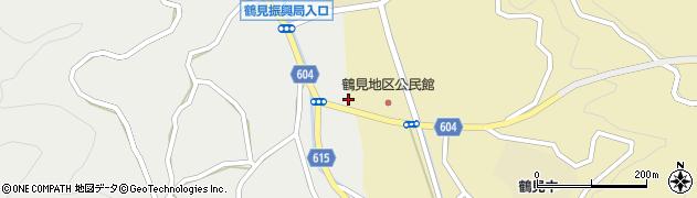 大分県佐伯市鶴見大字地松浦1958周辺の地図