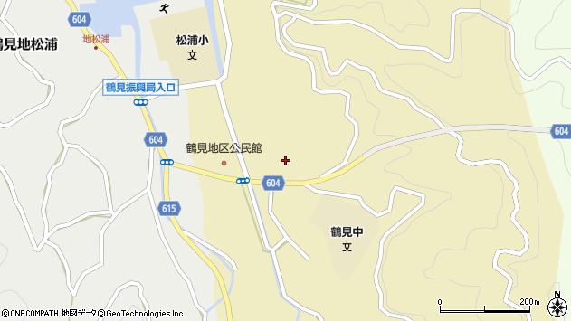 大分県佐伯市鶴見大字沖松浦659周辺の地図