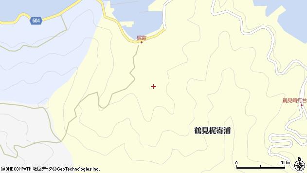 大分県佐伯市鶴見大字梶寄浦217周辺の地図