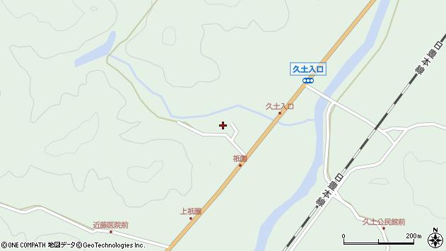 大分県佐伯市弥生大字江良1447周辺の地図