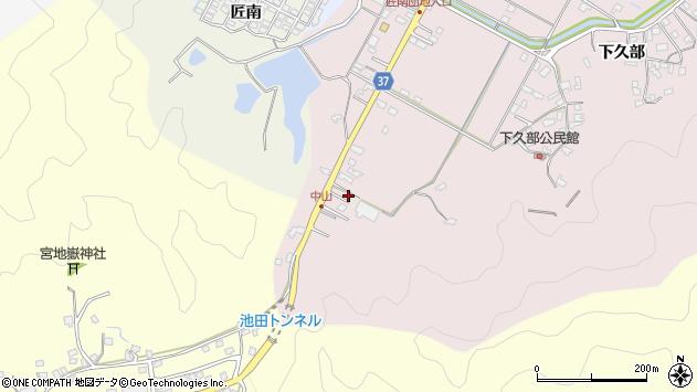 大分県佐伯市池田1153周辺の地図
