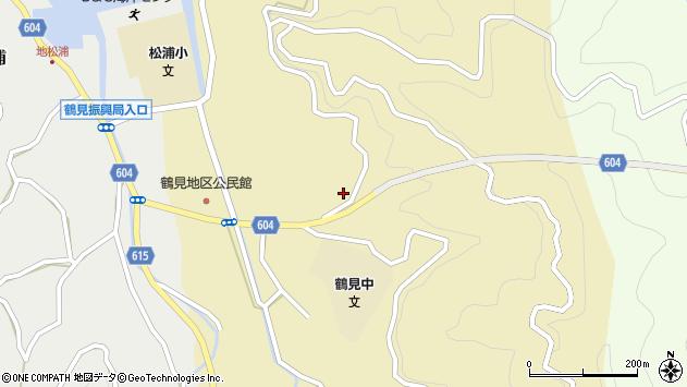 大分県佐伯市鶴見大字沖松浦650周辺の地図
