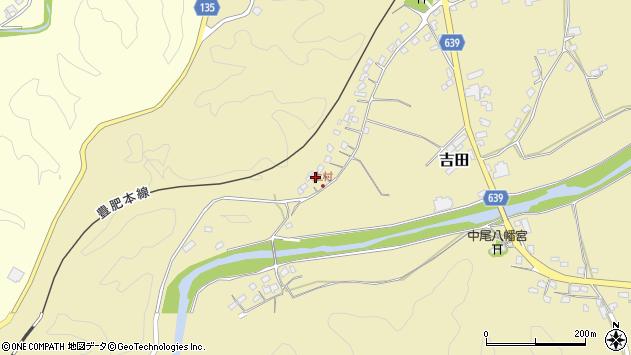 大分県竹田市吉田648周辺の地図