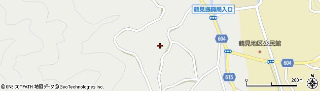 大分県佐伯市鶴見大字地松浦中村周辺の地図