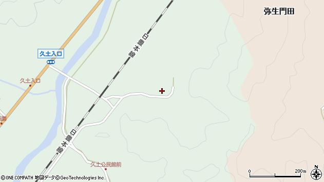大分県佐伯市弥生大字江良2890周辺の地図