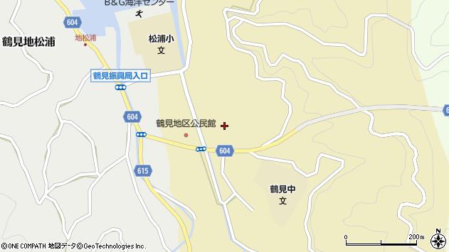 大分県佐伯市鶴見大字沖松浦674周辺の地図