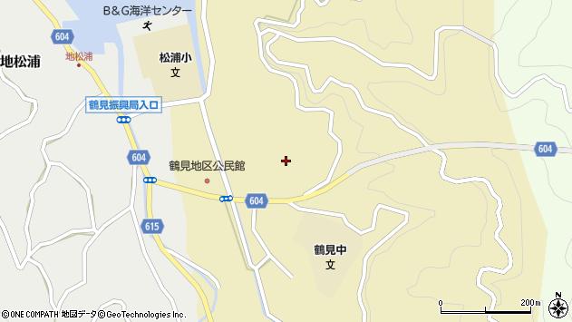 大分県佐伯市鶴見大字沖松浦652周辺の地図
