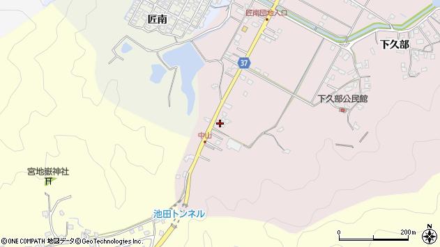 大分県佐伯市池田1197周辺の地図