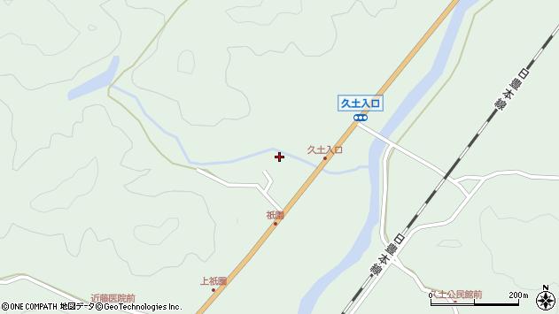 大分県佐伯市弥生大字江良1438周辺の地図