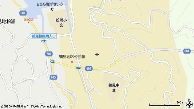 大分県佐伯市鶴見大字沖松浦562周辺の地図