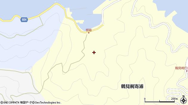 大分県佐伯市鶴見大字梶寄浦224周辺の地図