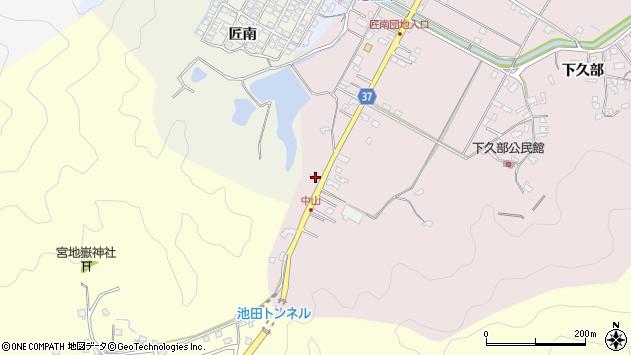 大分県佐伯市池田1036周辺の地図