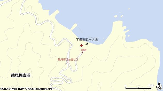 大分県佐伯市鶴見大字梶寄浦573周辺の地図