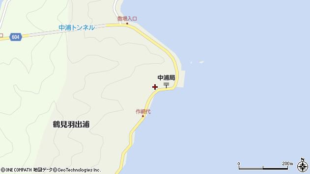 大分県佐伯市鶴見大字羽出浦432周辺の地図