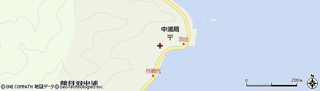 大分県佐伯市鶴見大字羽出浦443周辺の地図