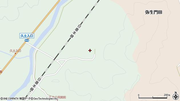 大分県佐伯市弥生大字江良2930周辺の地図