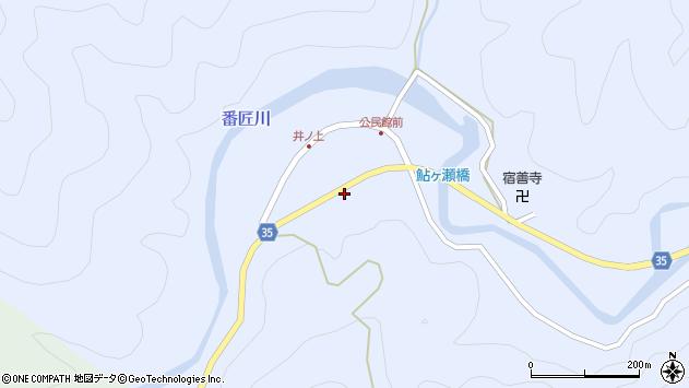 大分県佐伯市本匠大字井ノ上井ノ上周辺の地図