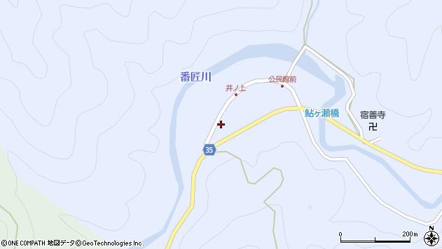 大分県佐伯市本匠大字井ノ上259周辺の地図