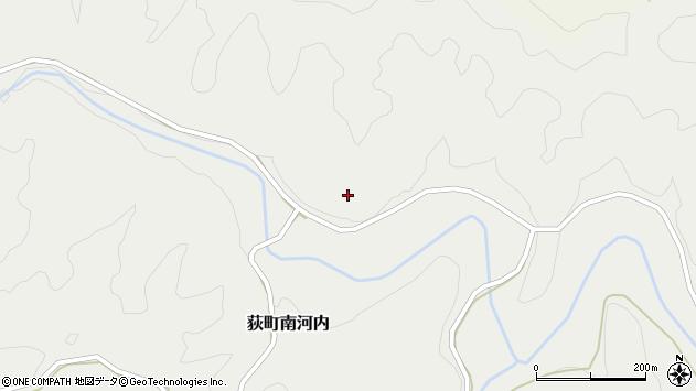 大分県竹田市荻町南河内仲村周辺の地図