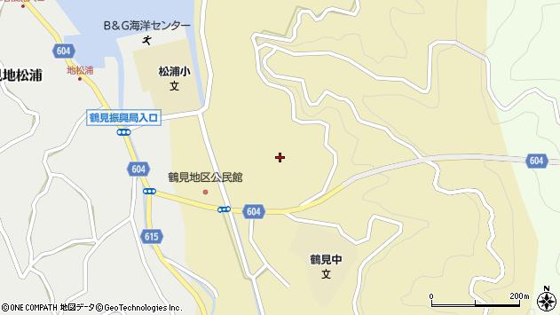 大分県佐伯市鶴見大字沖松浦702周辺の地図