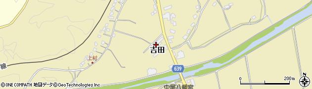 大分県竹田市吉田384周辺の地図