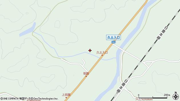 大分県佐伯市弥生大字江良1642周辺の地図