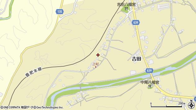 大分県竹田市吉田360周辺の地図