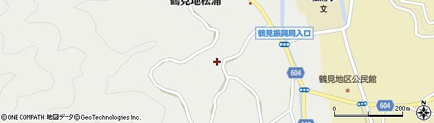大分県佐伯市鶴見大字地松浦1130周辺の地図