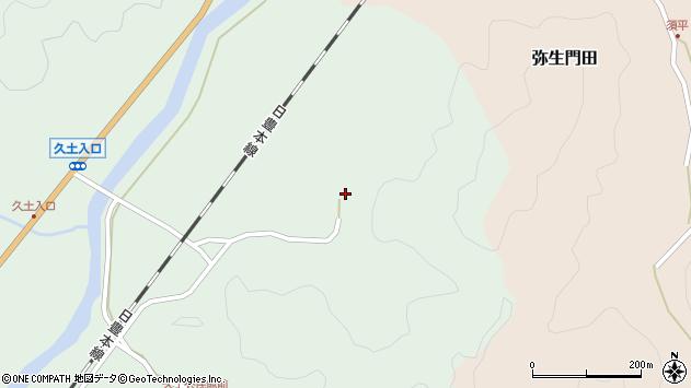 大分県佐伯市弥生大字江良2872周辺の地図