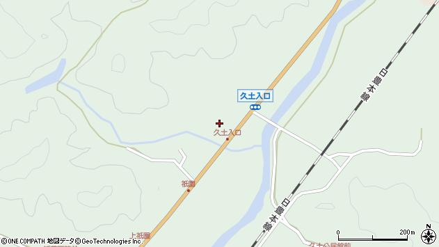 大分県佐伯市弥生大字江良1881周辺の地図