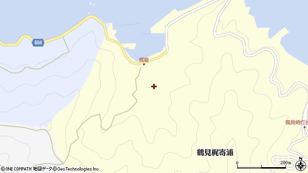 大分県佐伯市鶴見大字梶寄浦230周辺の地図