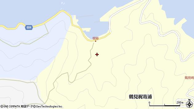 大分県佐伯市鶴見大字梶寄浦122周辺の地図