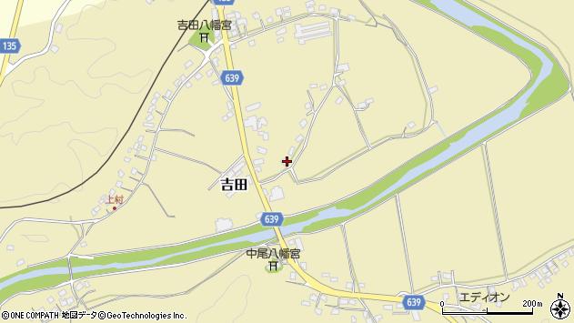 大分県竹田市吉田118周辺の地図