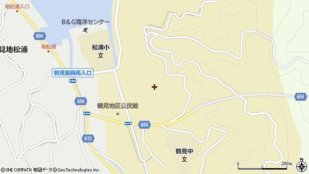 大分県佐伯市鶴見大字沖松浦703周辺の地図