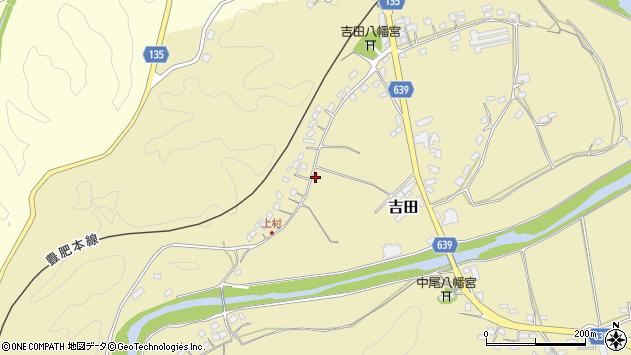 大分県竹田市吉田432周辺の地図
