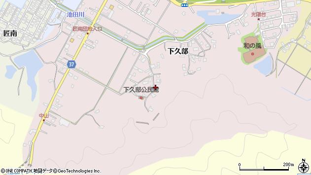 大分県佐伯市池田1568周辺の地図