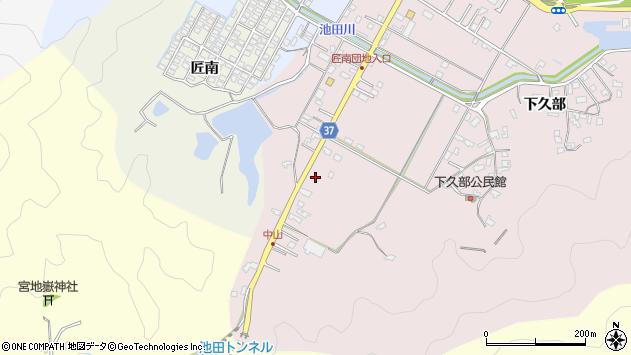 大分県佐伯市池田1202周辺の地図