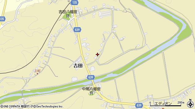 大分県竹田市吉田119周辺の地図