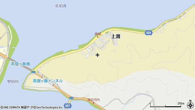 大分県佐伯市10050周辺の地図