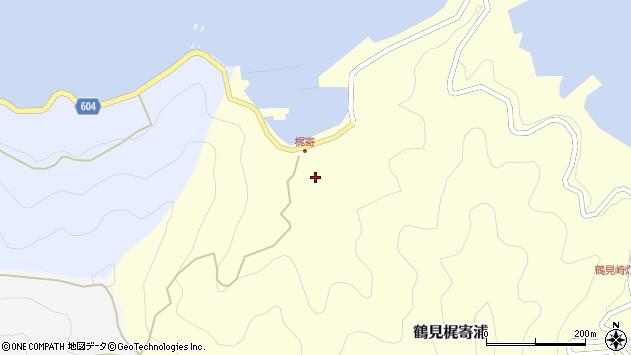 大分県佐伯市鶴見大字梶寄浦258周辺の地図