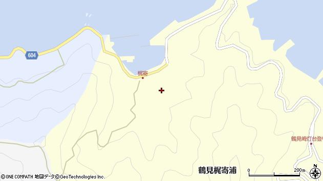 大分県佐伯市鶴見大字梶寄浦278周辺の地図