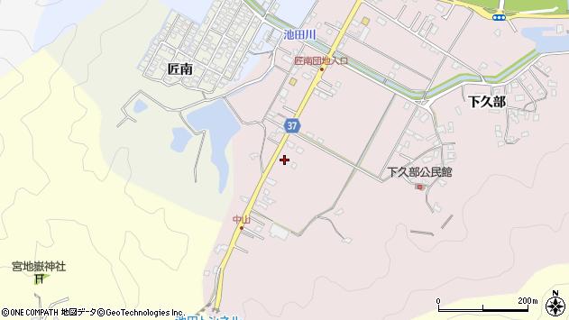 大分県佐伯市池田1203周辺の地図