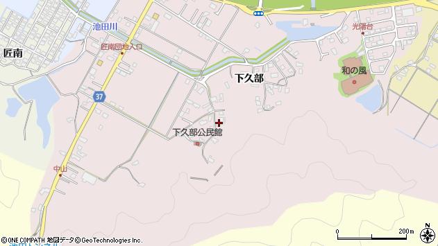 大分県佐伯市池田1574周辺の地図