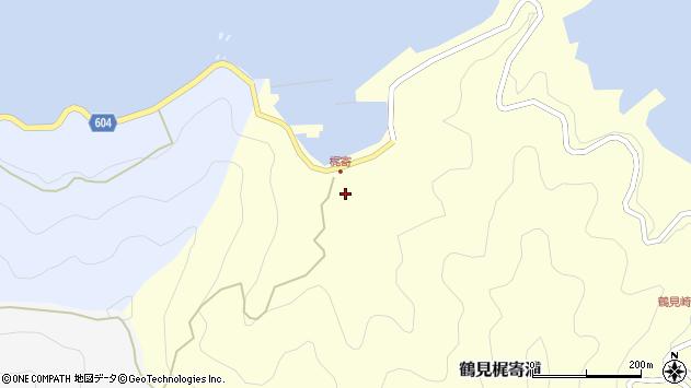 大分県佐伯市鶴見大字梶寄浦107周辺の地図