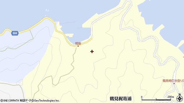大分県佐伯市鶴見大字梶寄浦280周辺の地図