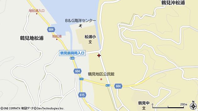 大分県佐伯市鶴見大字沖松浦759周辺の地図