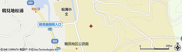 大分県佐伯市鶴見大字沖松浦周辺の地図