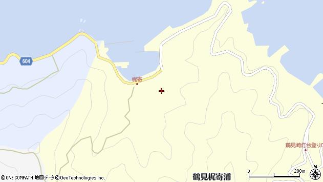 大分県佐伯市鶴見大字梶寄浦281周辺の地図