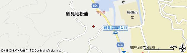大分県佐伯市鶴見大字地松浦918周辺の地図